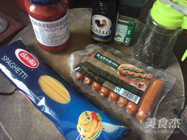 通心肠番茄意面的做法大全
