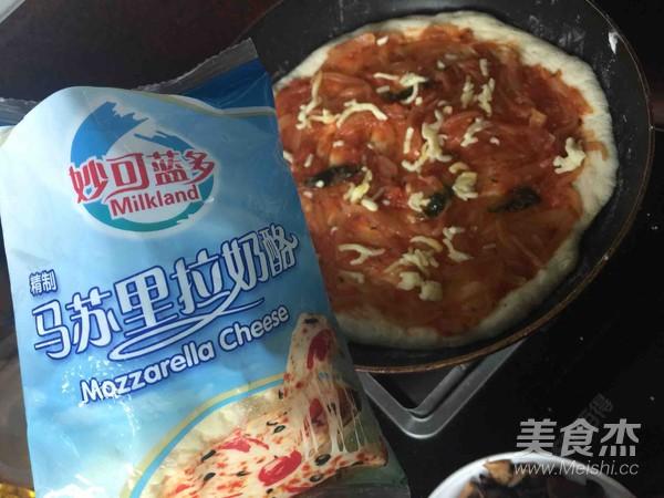 海陆双拼披萨的做法大全