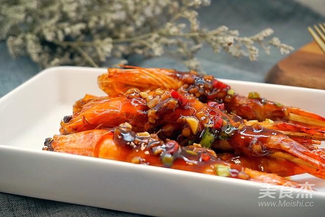 油焖竹签大虾的做法大全