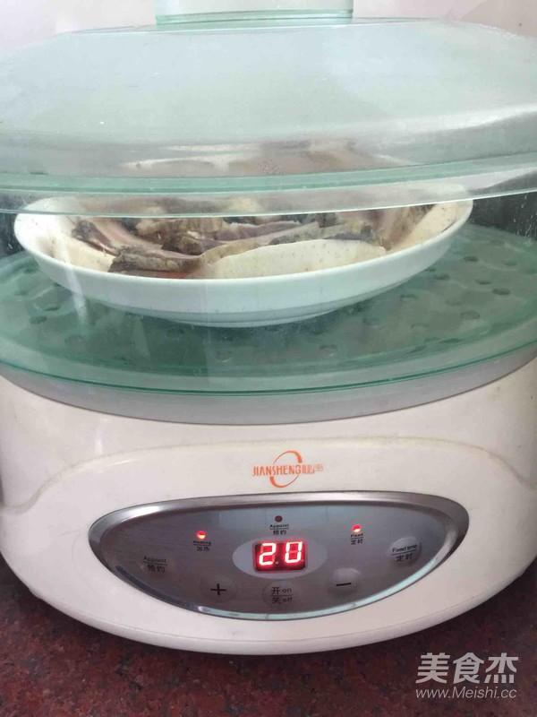 香芋蒸腊肉的简单做法
