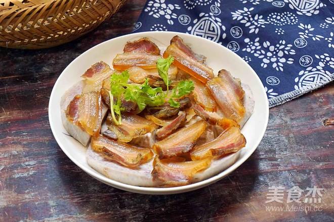 香芋蒸腊肉怎么吃