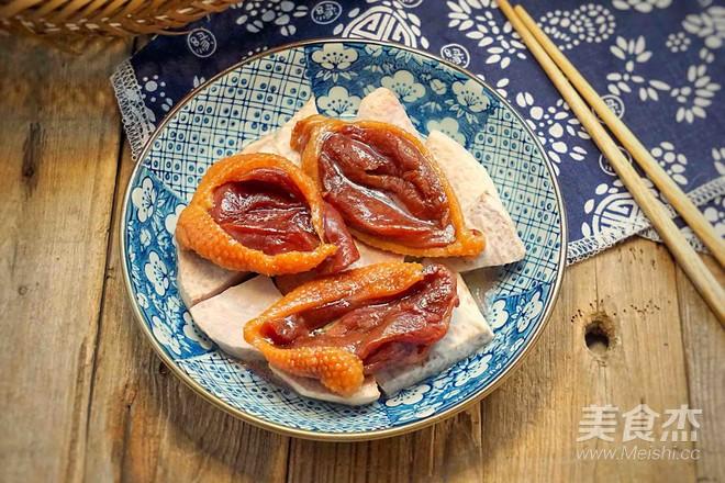 香芋蒸广式腊鸭怎么吃