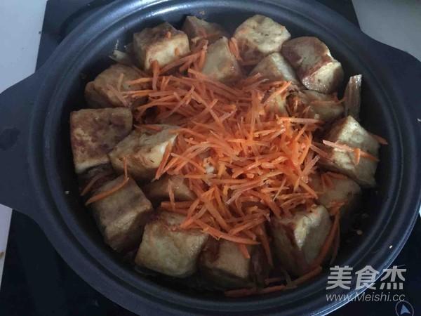 腐竹豆腐煲怎么煸