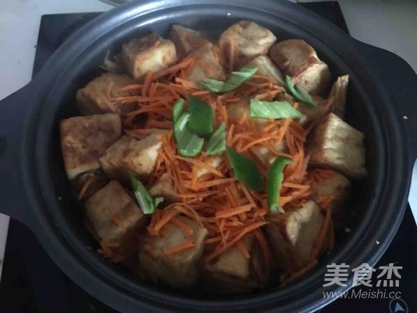 腐竹豆腐煲怎样煸