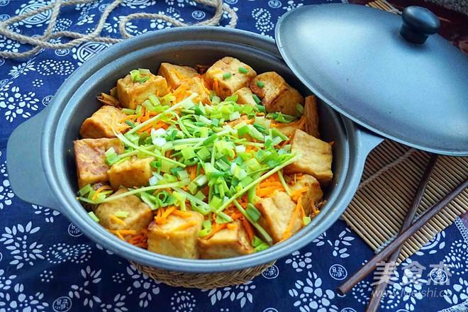 腐竹豆腐煲怎样炒