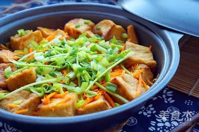 腐竹豆腐煲的制作