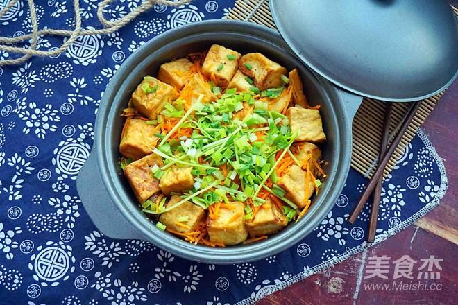 腐竹豆腐煲的制作方法