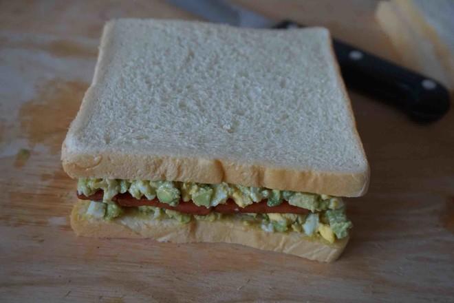 牛油果三明治怎样煸