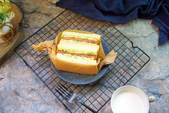 牛油果三明治的制作大全