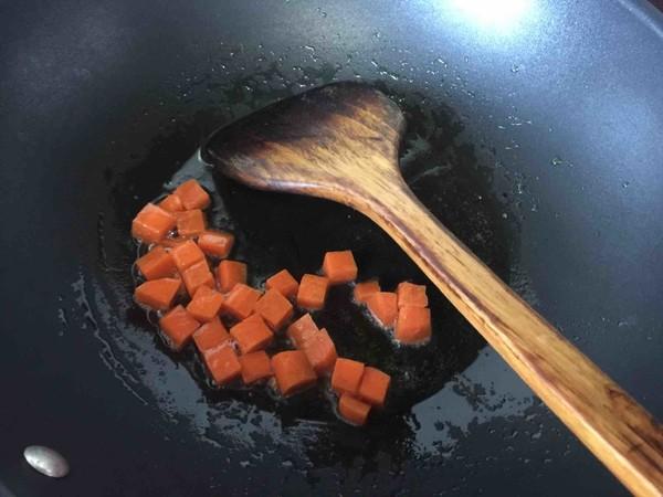 板栗咖喱鸡肉蒸饭怎么吃