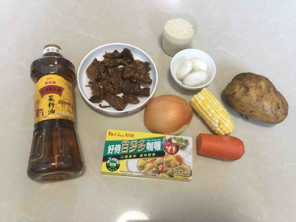 咖喱牛腩饭的做法大全