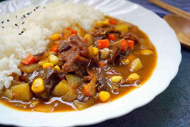 咖喱牛腩饭怎样做
