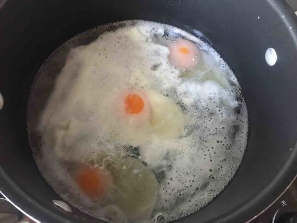 焗水波蛋的制作方法