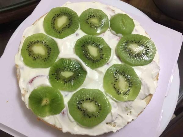 核桃水果蛋糕的制作方法