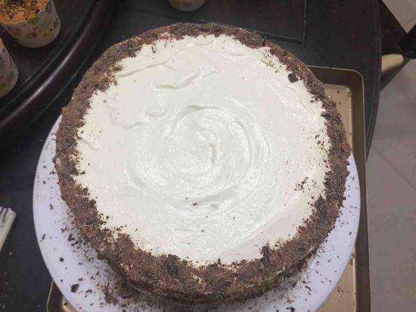 巧克力核桃水果蛋糕的做法大全