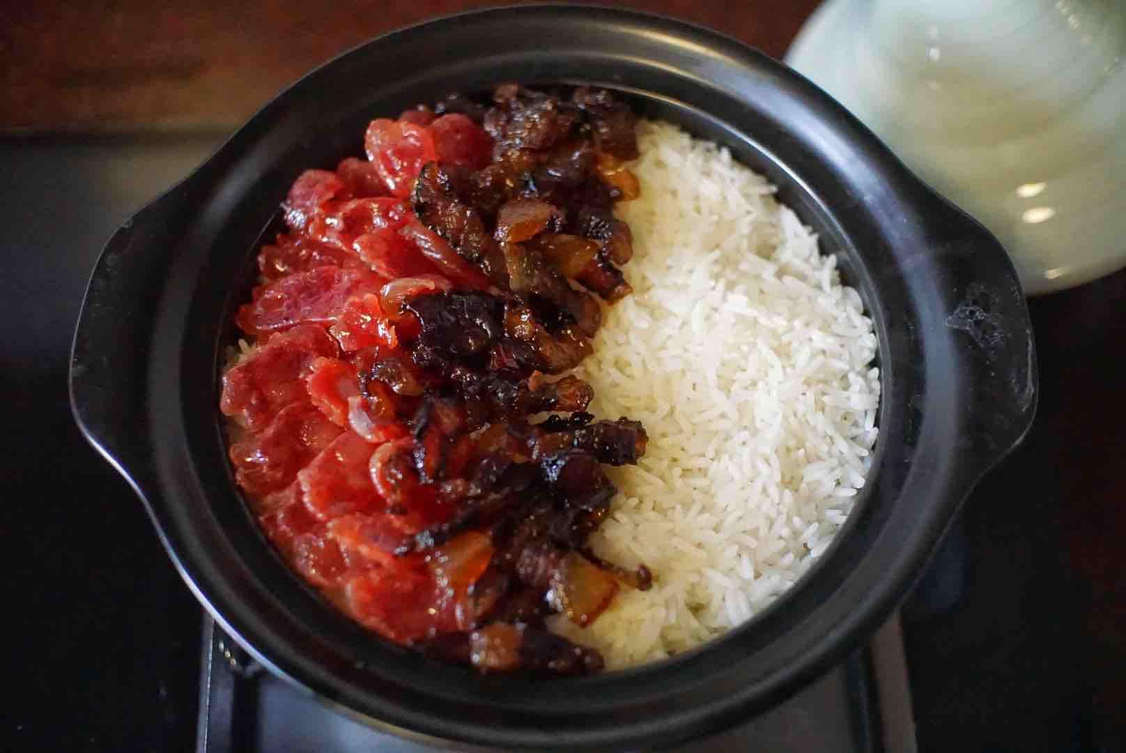 广式腊味煲仔饭怎么煮