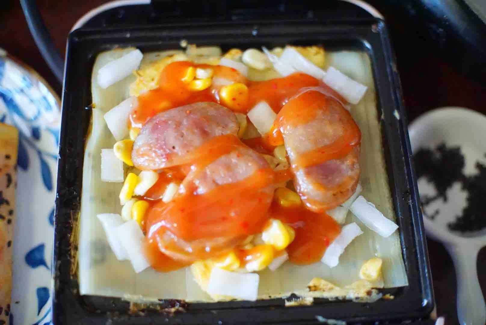烤冷面怎么做