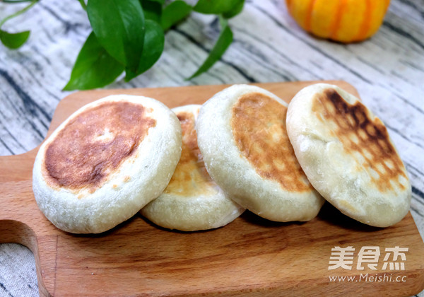 豆沙烫面馅饼的制作