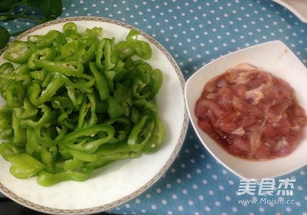 辣椒炒肉丝的简单做法