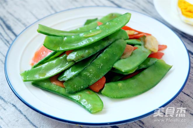 清炒荷兰豆的简单做法