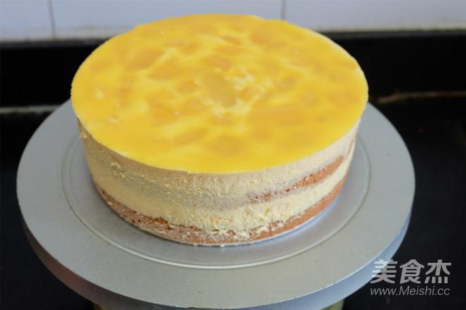 芒果慕斯蛋糕的制作