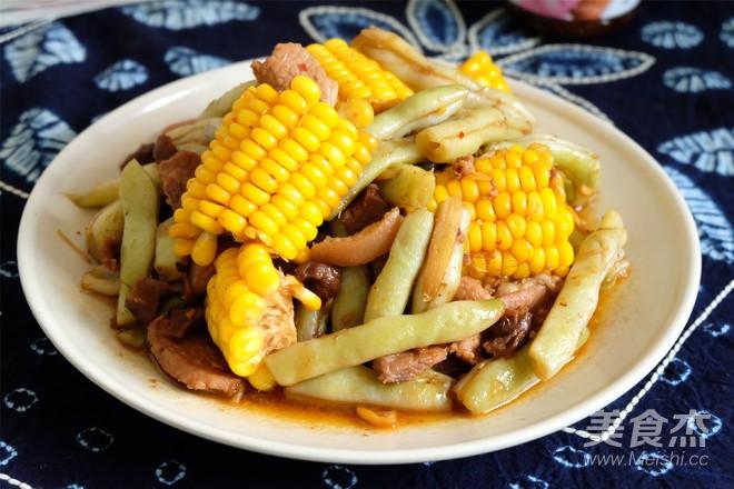 玉米酱豆角怎样做