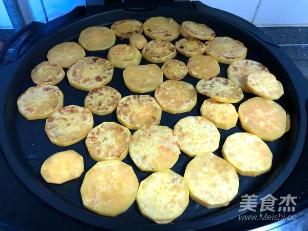 香煎红薯片怎么做