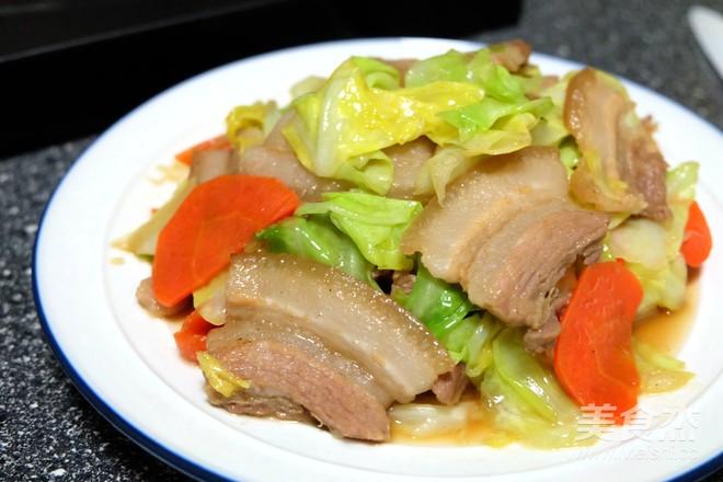 五花肉炒圆白菜怎样炒