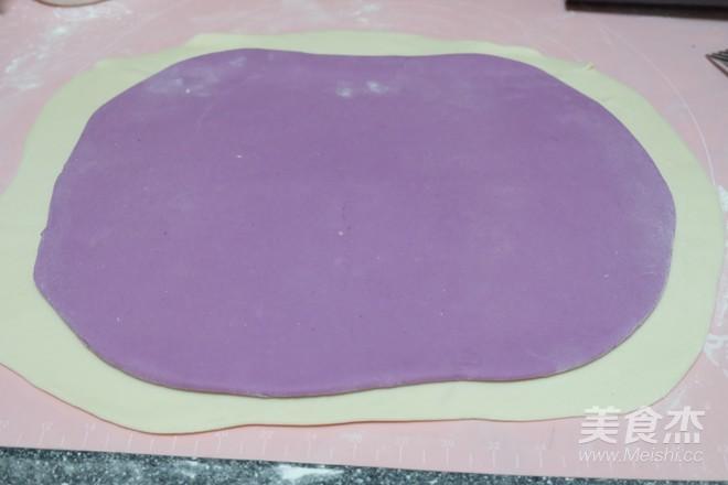 紫薯双色馒头的简单做法