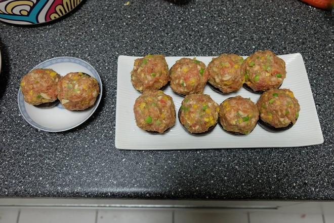 香菇酿肉丸怎么煮