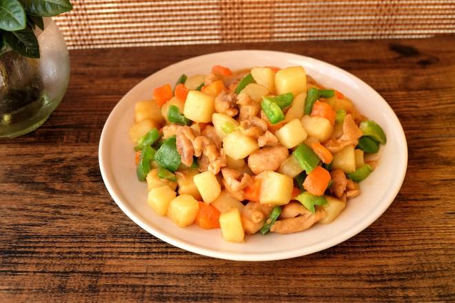 土豆烧鸡腿肉怎样煮