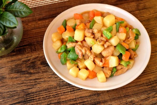 土豆烧鸡腿肉怎样炖
