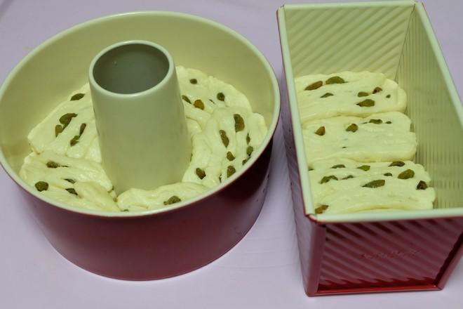 炼乳葡萄干面包的制作方法