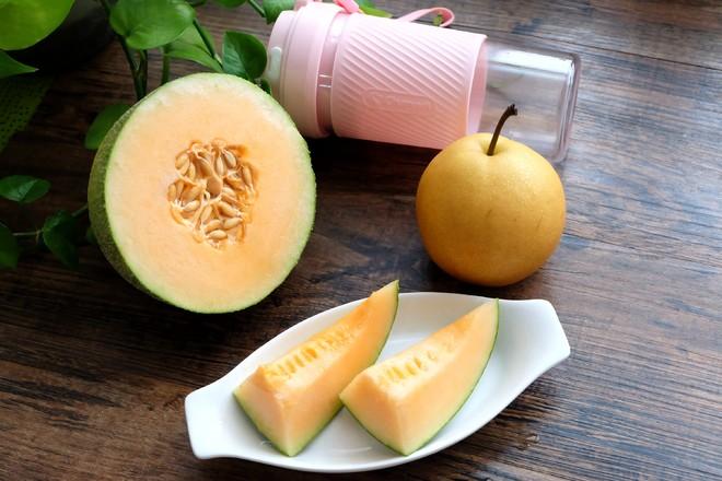 哈密瓜梨汁的做法大全