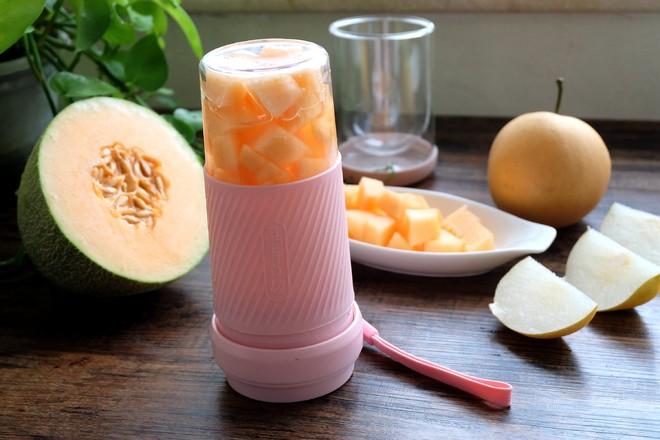 哈密瓜梨汁的家常做法