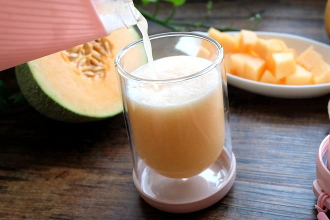 哈密瓜梨汁怎么做