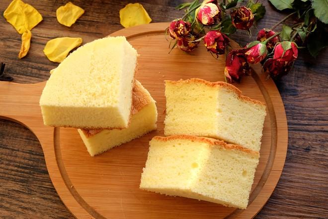 古早蛋糕(6寸圆模2个)成品图