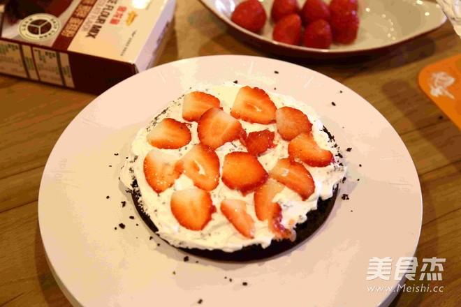 圣诞蛋糕 — 简易蛋糕做法怎么煮