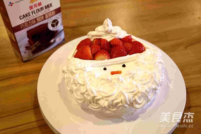 圣诞蛋糕 — 简易蛋糕做法怎样做