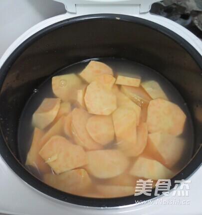 红薯枸杞汤的做法图解
