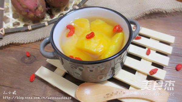 红薯枸杞汤怎么吃