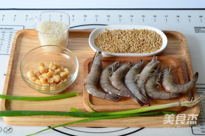 鲜虾干贝粥的做法大全