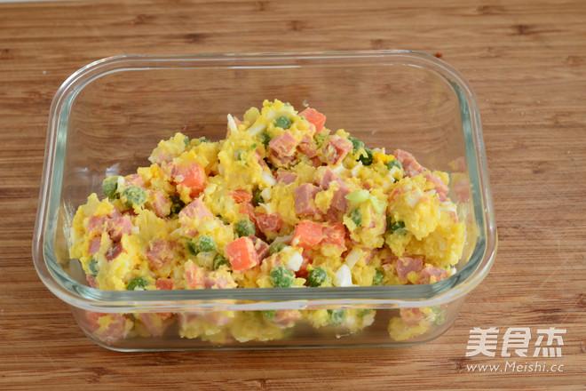 土豆沙拉包怎样煮