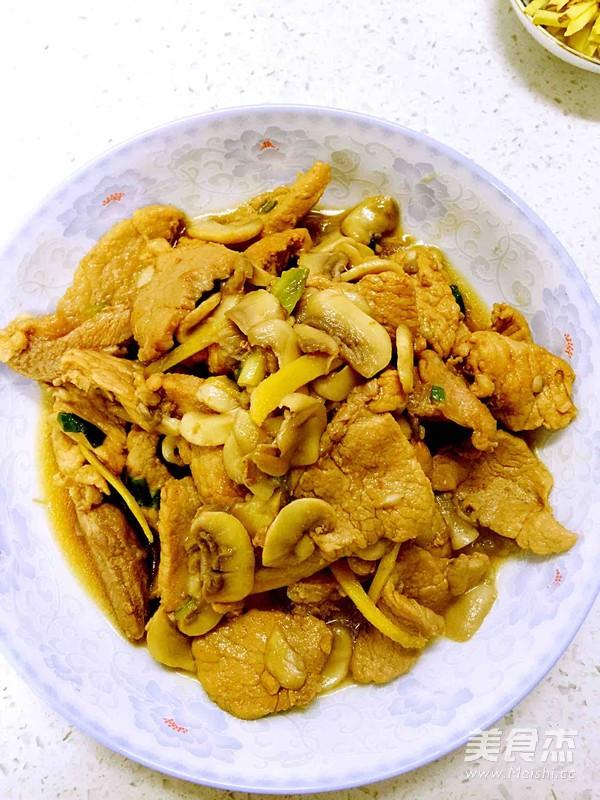 蘑菇炒肉片怎么煮