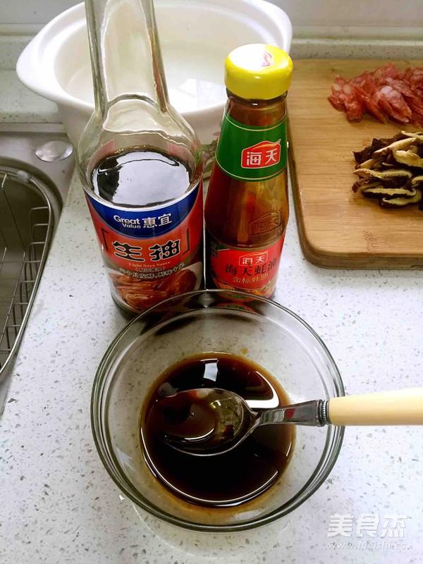 腊肉煲仔饭的简单做法