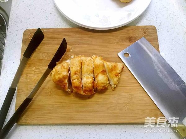 鸡扒饭的制作