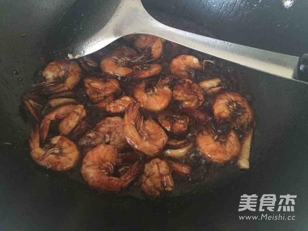 红烧基围虾的做法图解