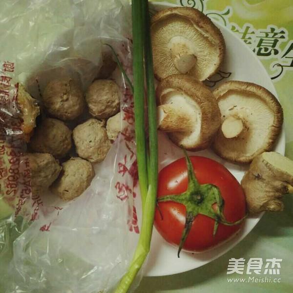 番茄蘑菇牛肉丸汤的做法大全