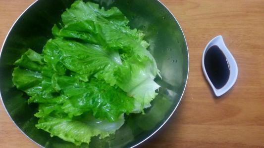 蒜蓉酱油白灼生菜的做法大全