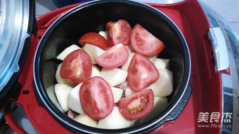 土豆牛腩煲怎么吃